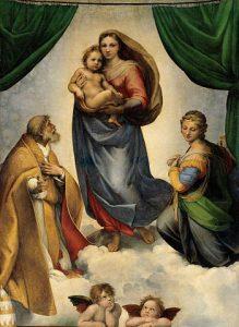 RAFAEL Madonna Sixtina